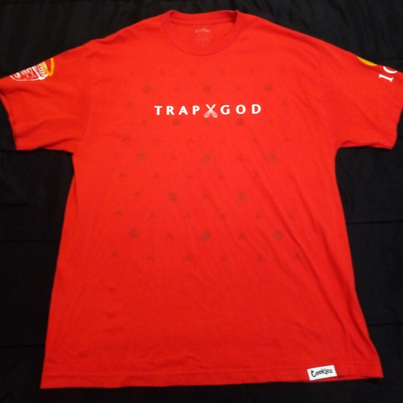 2845cb841b7 Cookies Other - Cookies Gucci Mane Trap God Tee